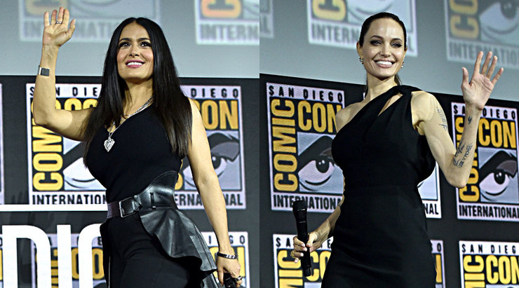 Зовсім без макіяжу: Сальма Хаєк поділилася спільним селфі з Анджеліною Джолі