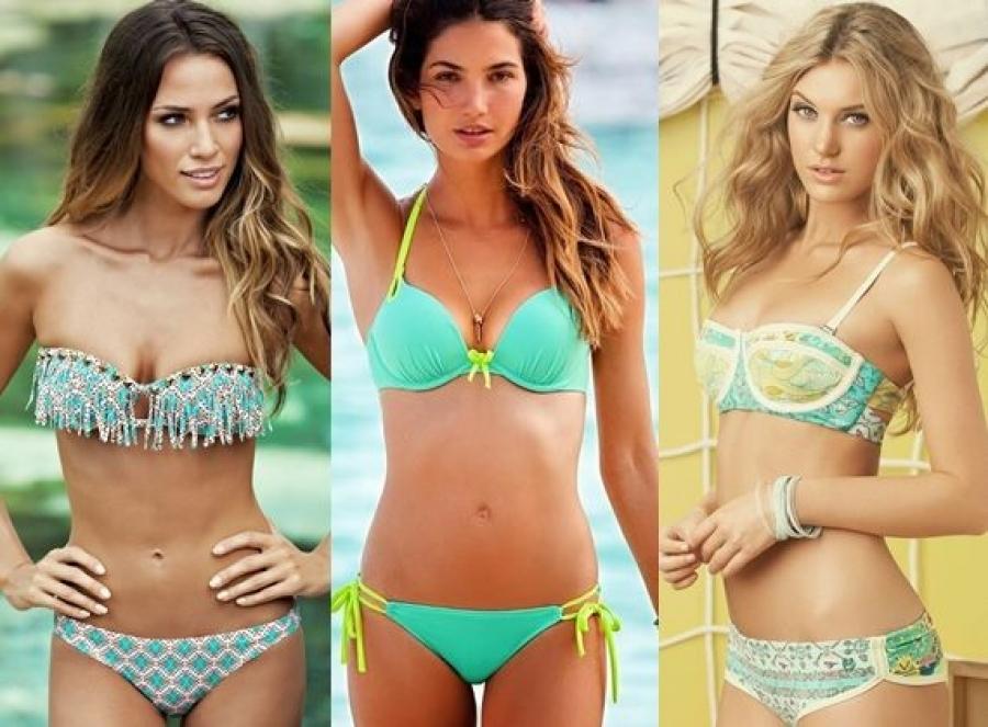 Які кольори купальників в моді в цьому сезоні?