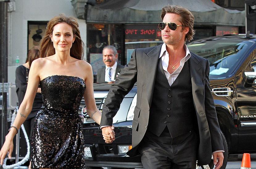 Бред Пітт вперше за 4 роки таємно навідався до будинку Анджеліни Джолі