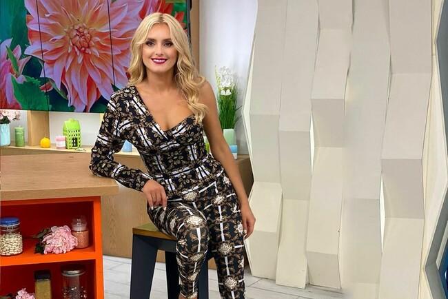 Ірина Федишин у ефектному вбранні похизувалася стрункою фігурою: фото