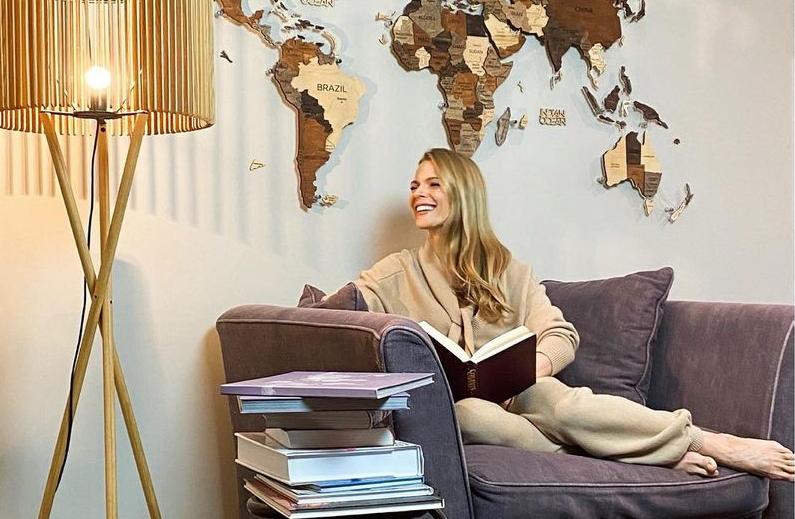 Оля Фреймут показала свої розкішні апартаменти на Подолі